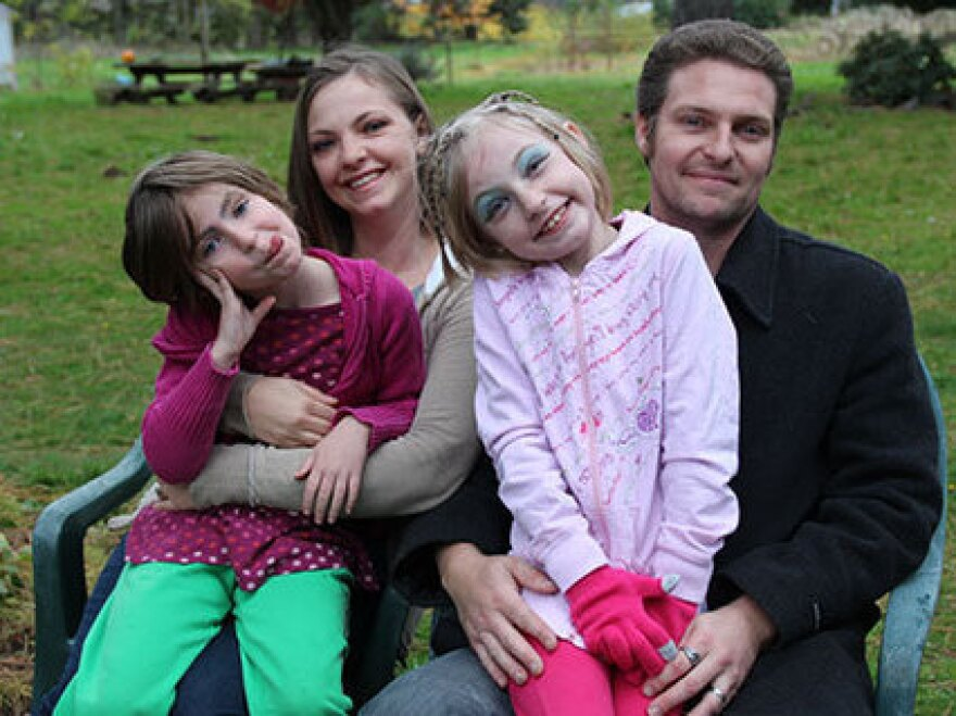 Kyle Thompson and his family are all going to have health coverage in Oregon, thanks to the state's successful effort to enroll people in Medicaid.
