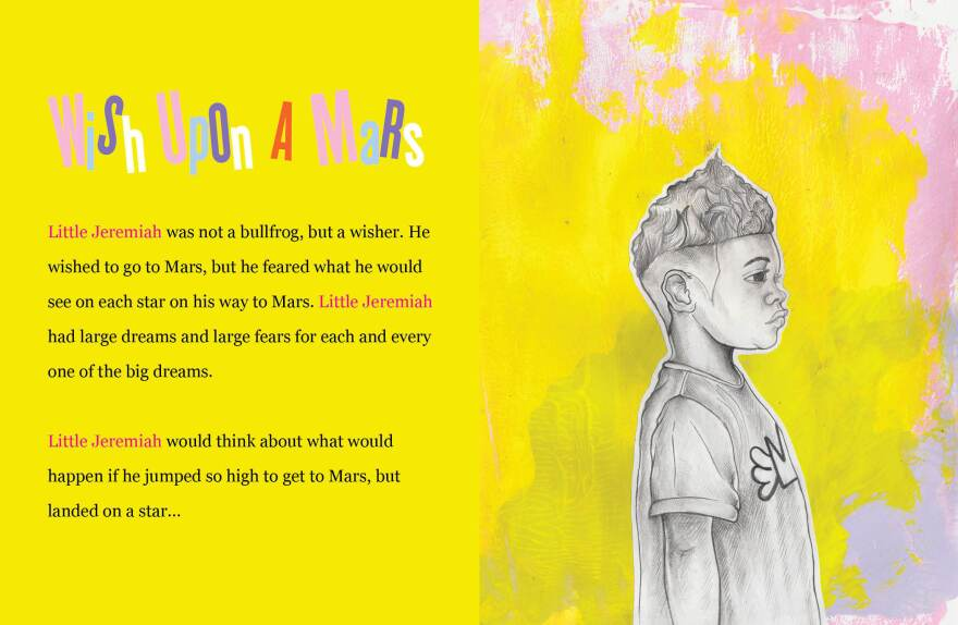 Jeremiah Nebula has big dreams: he wants to go to Mars.