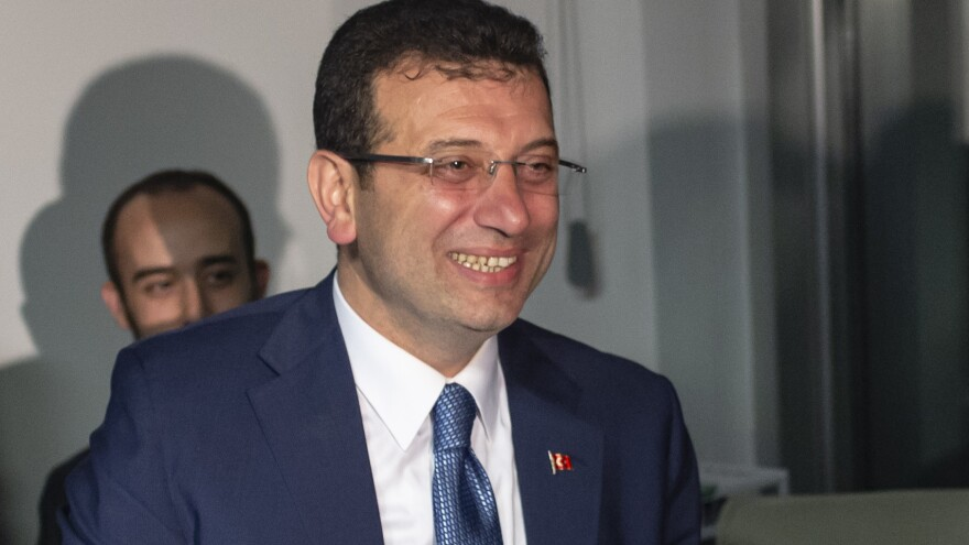 Opposition candidate Ekrem Imamoglu claimed victory in Istanbul's mayoral race even as results are still being reviewed. The city is where President Recep Tayyip Erdogan began his political career in the 1990s.