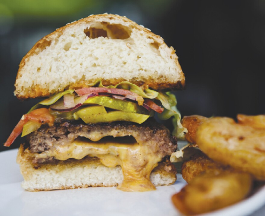 Sauce Magazine executive editor Ligaya Figueras called the cheeseburger at Death in the Afternoon in St. Louis one of her most memorable meals of 2014.