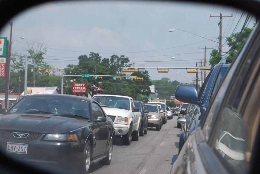 Traffic_on_Lamar_and_12th-_Callie_Hernnadez.JPG