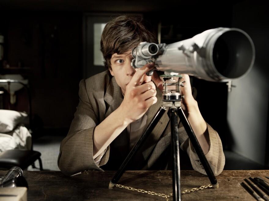 Jesse Eisenberg in <em>The Double</em>.