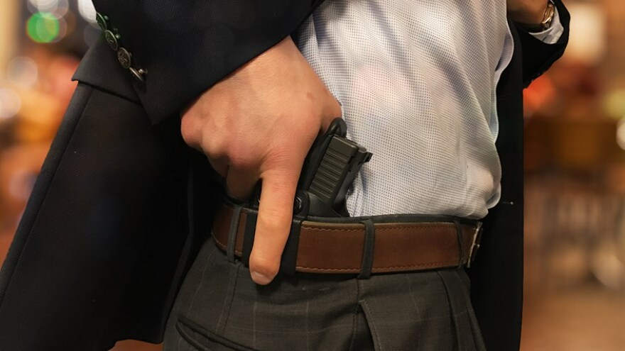 Lawmakers are fighting over who has control of the state's concealed weapons permits.