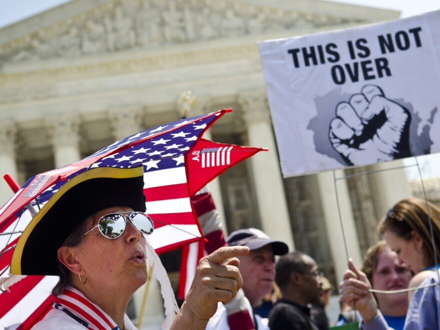 Tea Party activists say the Supreme Court's decision to uphold the Affordable Care Act could re-energize their movement, just in time for this fall's election.