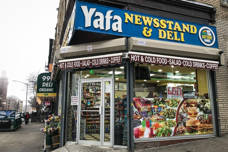 The Yafa Newsstand & Deli was one of the Yemeni-owned bodegas that closed on Feb. 2, to protest President Trump's first travel ban.
