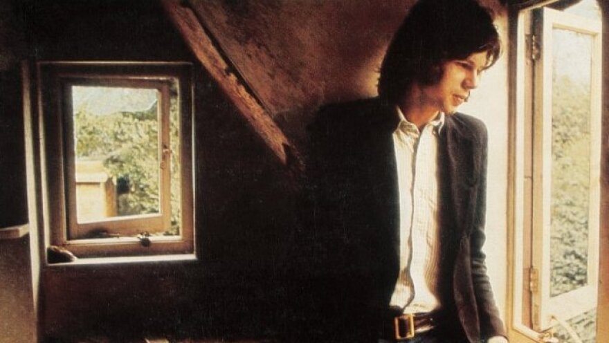 The cover photo from Nick Drake's 1969 debut, <em>Five Leaves Left</em>, produced by Joe Boyd.