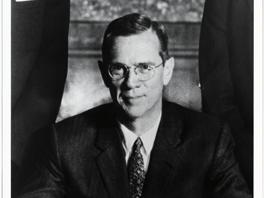 William McChesney Martin, the man who fought to defend the independence of the Federal Reserve against the President.