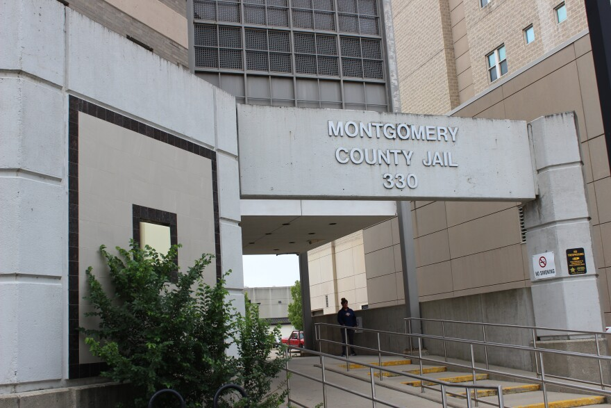 Montgomery County Jail entrance