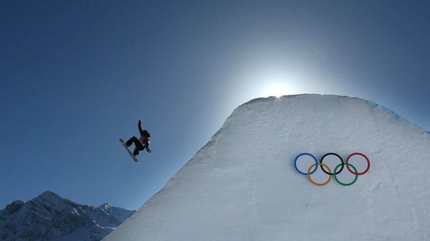 Rebecca Torr of New Zealand competed Thursday in the women's slopestyle qualification at the Winter Olympics in Sochi.