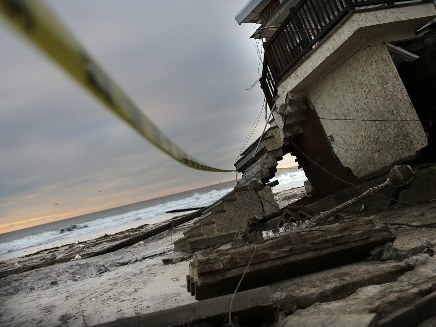 Even when a flood obliterates homes, as Superstorm Sandy did in 2012 in the Rockaway neighborhood of Queens, N.Y., the urge to rebuild can be strong.