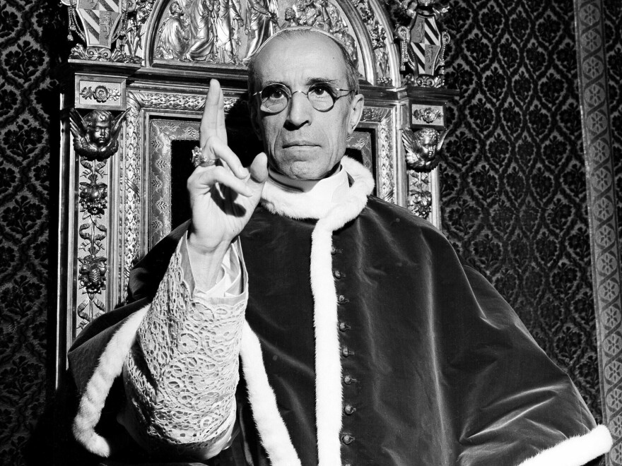 Some historians have argued that during World War II, Pius XII maintained uncritical relations with Nazi Germany in order to preserve the church. According to tradition, the archives concerning his papacy were not to be opened until 2028, but the current pope has decreed they will be opened next year.