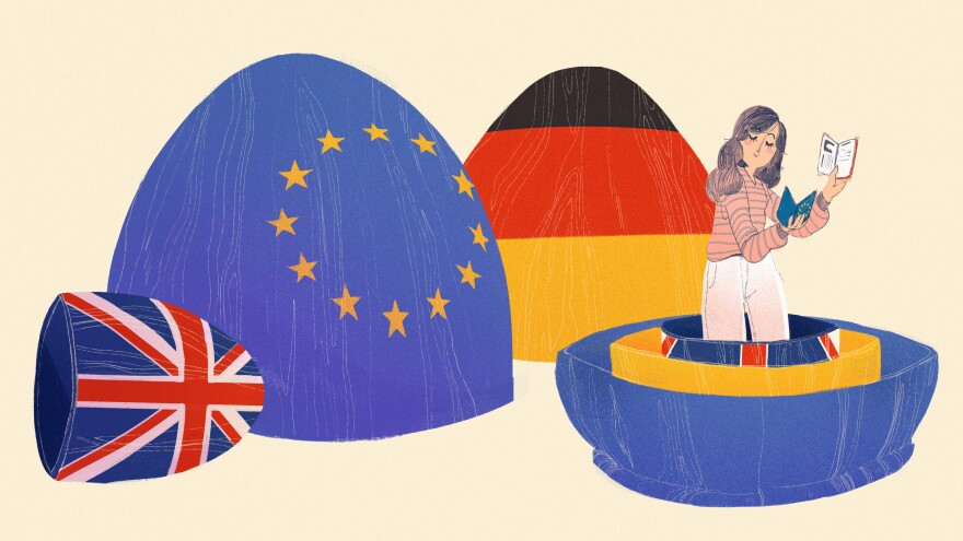 """I've spent much of my life becoming German,"" writes British-born journalist Esme Nicholson."