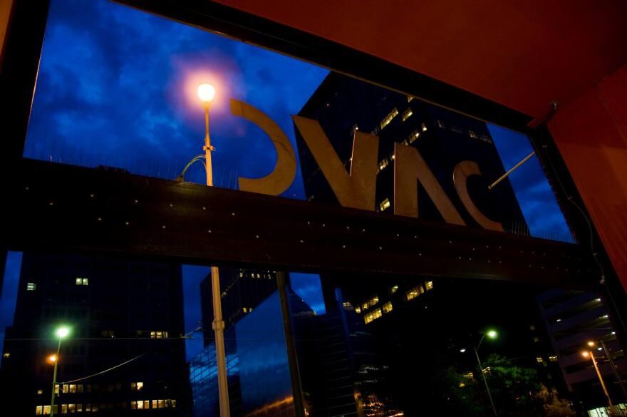 Dayton Visual Arts Center (DVAC) exterior sign