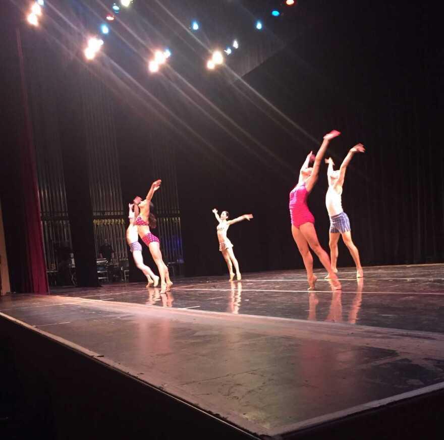 Knight Awards dance presentation
