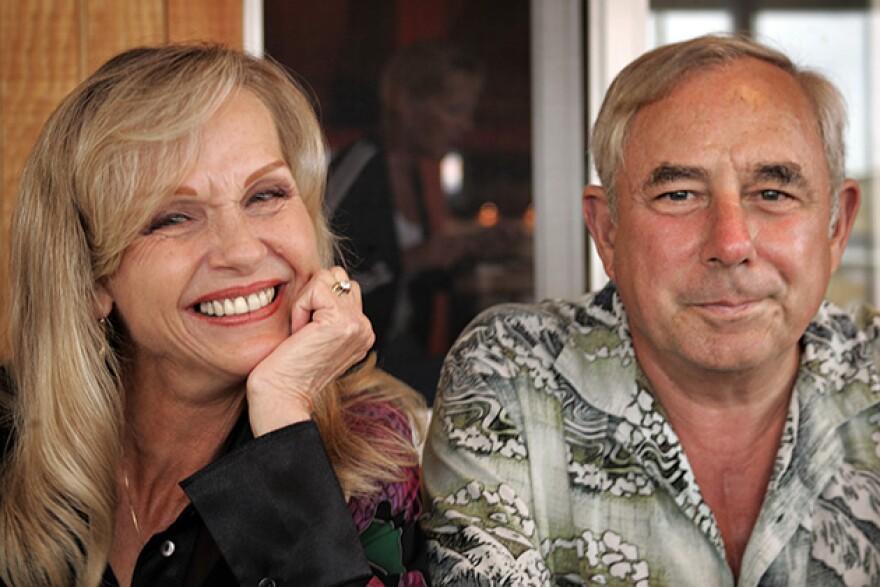 Paula Schulte and husband Joe Schulte taken in 2005 in Fort Pierce, Florida.