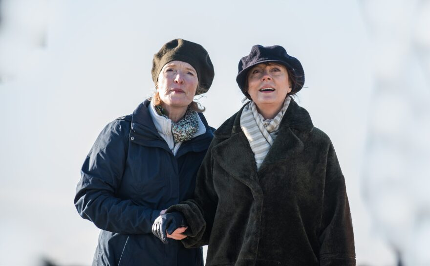 "Lindsay Duncan as Liz and Susan Sarandon as Lily in ""Blackbird."" (Parisa Taghizadeh, Courtesy of Screen Media)"