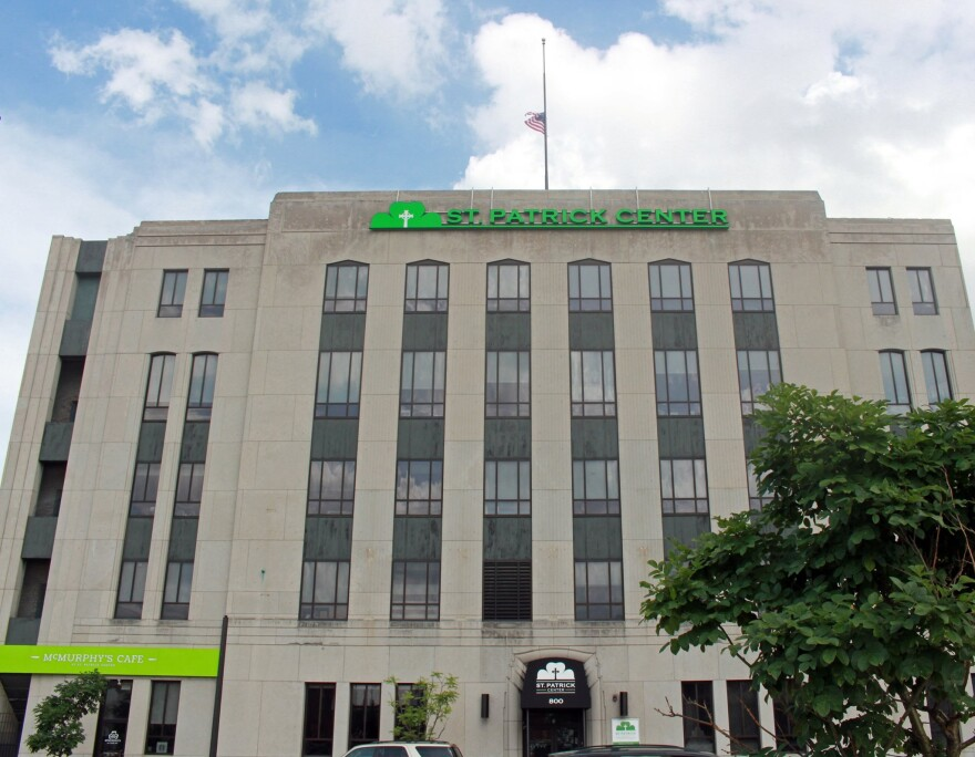 St. Patrick Center is a hub for homeless services in downtown St. Louis City and now it is scrambling to prepare for possible COVID-19 cases within the homeless population. 3/19/20
