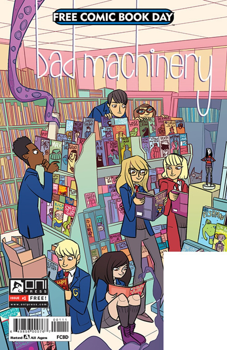 <em>Bad Machinery</em>