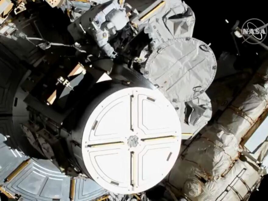 Astronauts Christina Koch and Jessica Meir began conducting the first all-female spacewalk Friday morning.