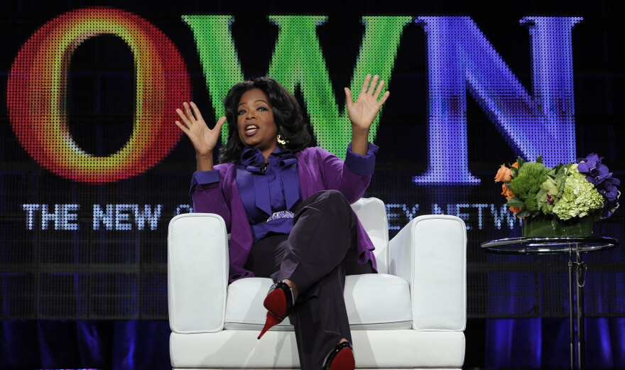 Oprah Winfrey's revamped book club uses her magazine and OWN cable network as platforms.