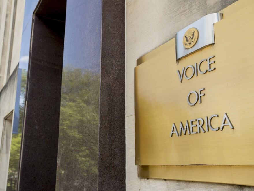 Voice of America, part of the U.S. Agency for Global Media, has increasingly been a target of the Trump administration.