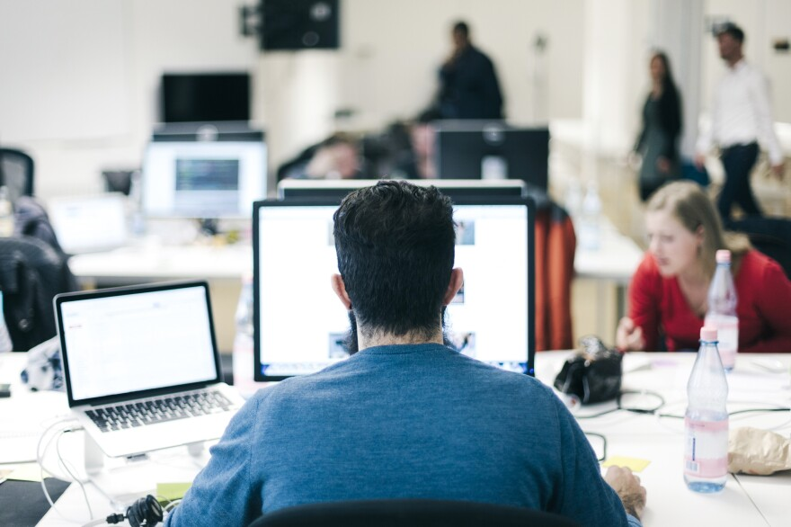 A new report finds that good co-worker relationships are linked to decreased loneliness.