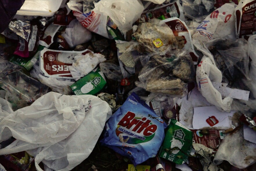 Plastic bags are a key problem, say residents, because they clog waterways.