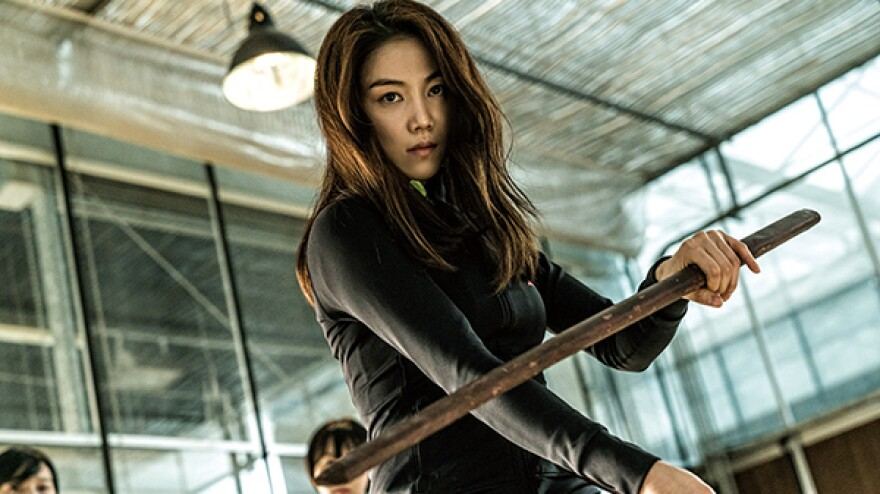 Assassin Sook-hee (Kim Ok-bin) switches sides (or does she?) in <em>The Villainness. </em>
