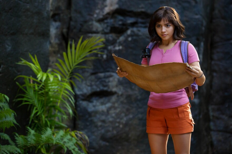 Isabela Moner stars as Dora in <em>Dora and the Lost City of Gold</em>