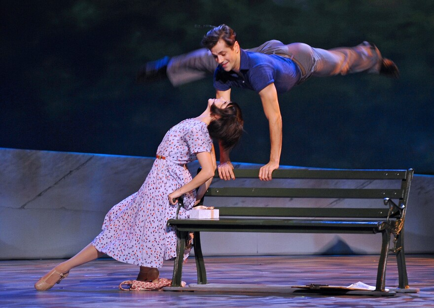 The stage version of the Hollywood classic <em>An American in Paris</em> combines British, French and American artistic traditions and stars Leanne Cope and Robert Fairchild in the roles made famous by Leslie Caron and Gene Kelly.
