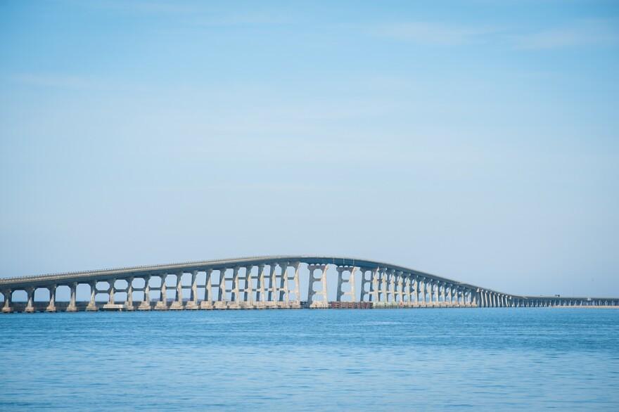 the Bonner Bridge