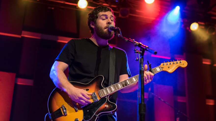Manchester Orchestra performs live at World Cafe Live in Philadelphia for a WXPN Free At Noon Concert.