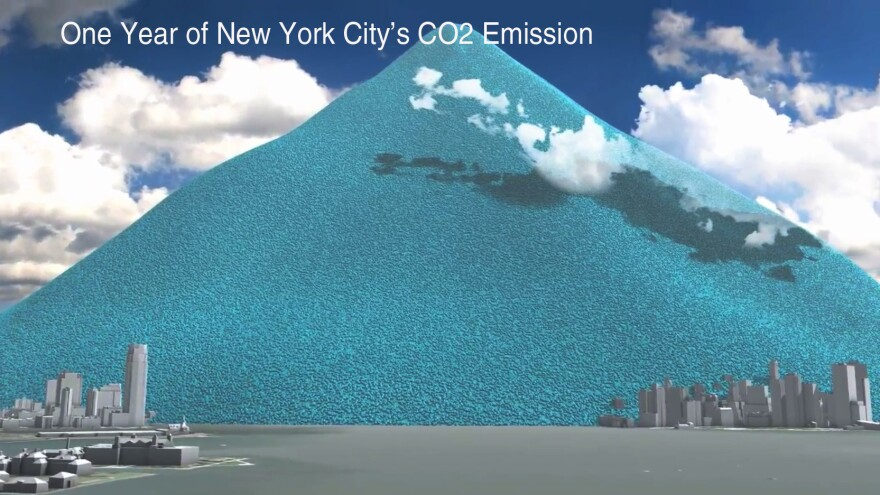 One Year Of NYC's Carbon Dioxide Emissions