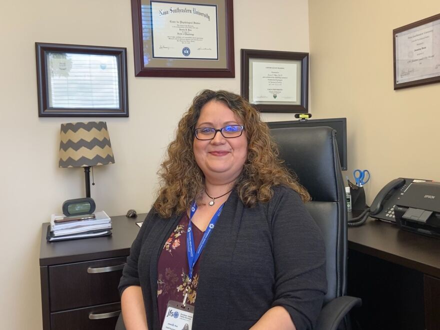 Dr. Jessica J. Ruiz is a trauma trained psychologist and has worked with survivors of the Marjory Stoneman Douglas High School in Parkland.