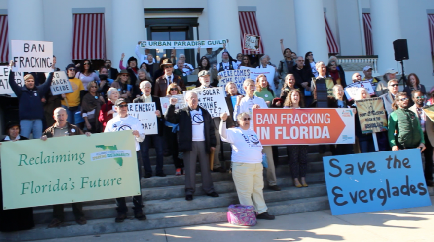 Fracking opponents are closely watching a statewide ban proposed by Sen. Dana Young, R-Tampa. It's prospects are dim in the House, but Majority Leader Ray Rodrigues says there's a basis for a compromise.