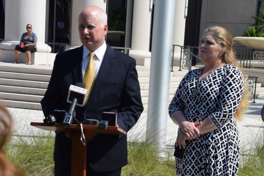 """Northeast Florida State Attorney candidate Wes White says the unprocessed rape kits, some of which are 20-years-old, need """"to be done today."""""""