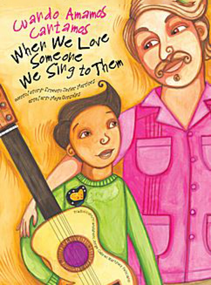 Picture of cover for book, When We Love Someone We Sing to Them