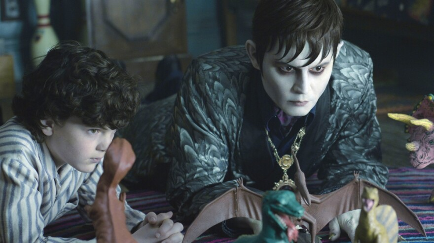 After Barnabas Collins (Johnny Depp) rises from the grave in the 1970s, 200 years after he was imprisoned, he returns to his ancestral home and befriends his descendants, including David Collins (Gully McGrath).