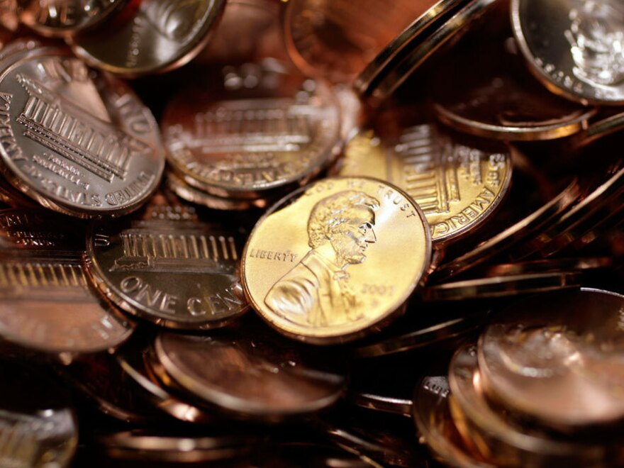 Demand for quarter, dimes, nickels, and pennies was up this year.
