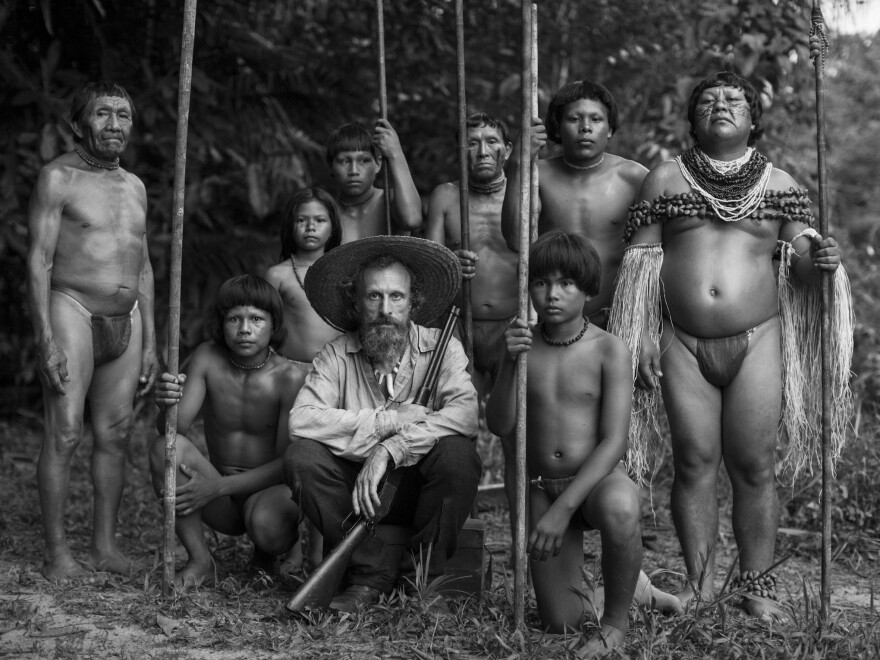 Two scientists and an Amazonian shaman work together over 40 years to find a sacred healing plant in <em>The Embrace of the Serpent</em>.