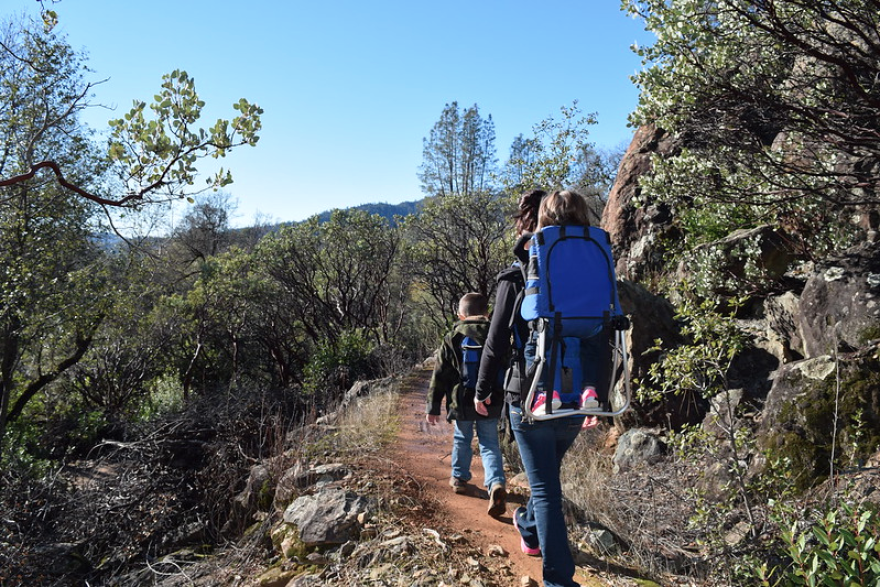 Caption: A survey by the philanthropic arm of the Outdoor Industry Association found that kids went on 15% fewer annual outings in 2018 than they did in 2012.