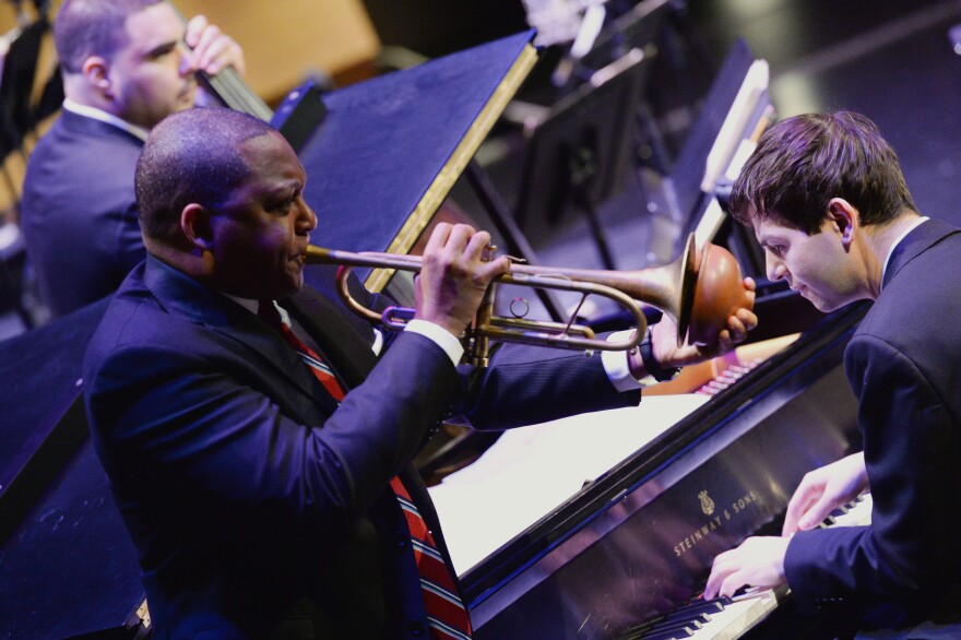 Wynton Marsalis will lead his Jazz at Lincoln Center Orchestra in a concert of Christmas music at Powell Hall. [12/3/19]
