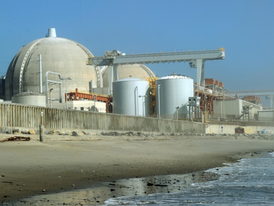 The shuttered San Onofre power plant is one of California's two nuclear power plants located near active earthquake faults. Spent nuclear fuel is being stored there currently.