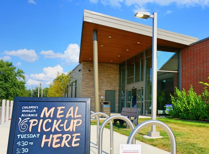 Dayton Library Food Distribution Program