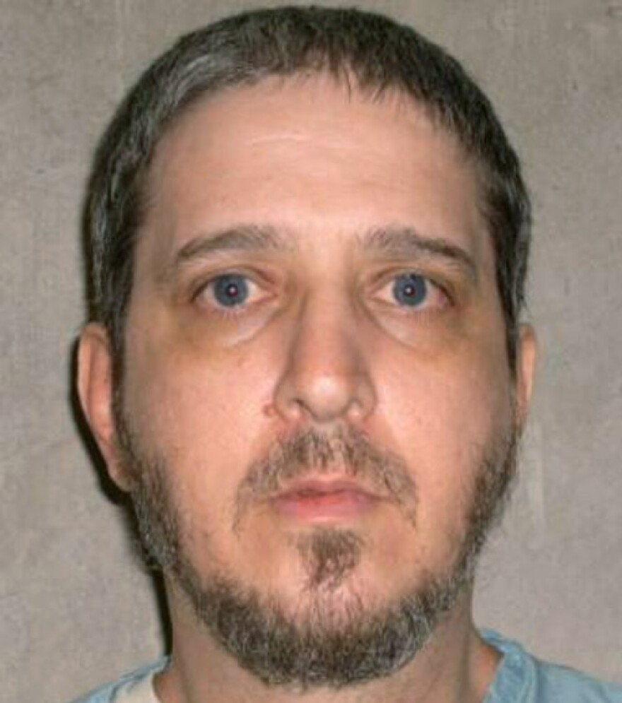 This undated file photo provided by the Oklahoma Department of Corrections shows death row inmate Richard Glossip.