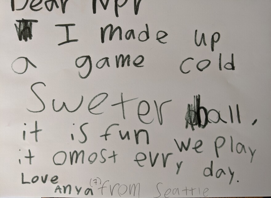 We wish we could come play it with you, Anya!