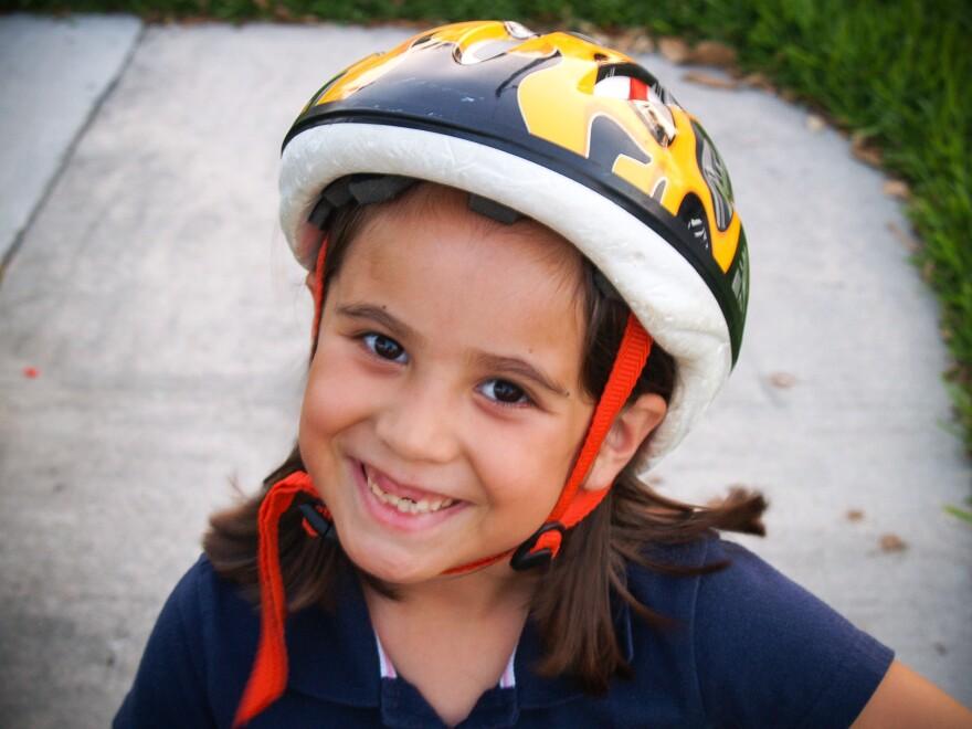 Carmen Schentrup at age six.