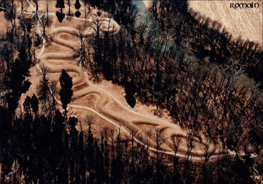 An aerial view of the Serpent Mound earthworks by Bill Romain, an independent researcher who has long had his eye on the mound.