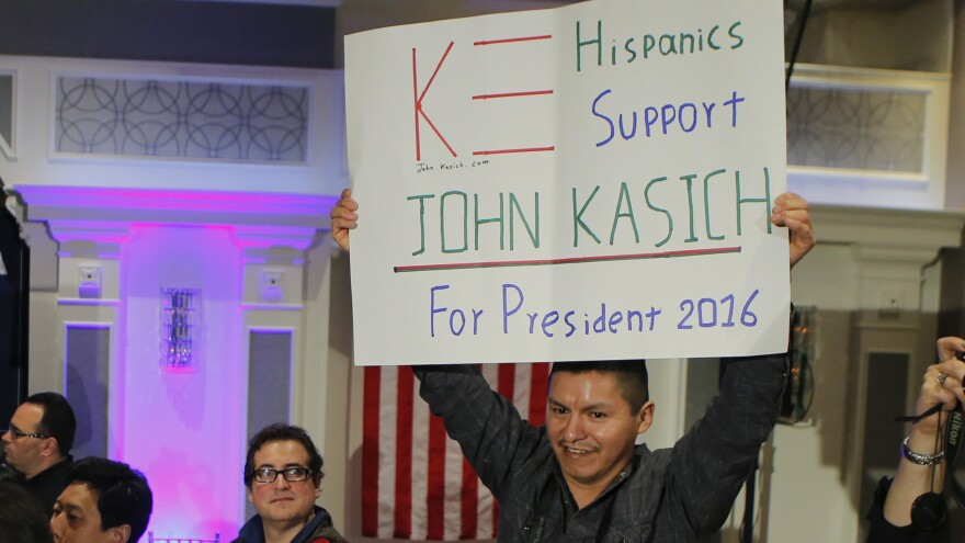 The GOP said three years ago that it needed to reach out to a more diverse crowd. Kasich is trying to do that.