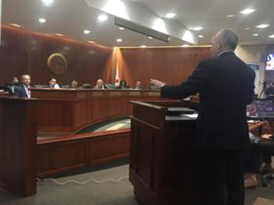 Republican former Florida House Speaker Richard Corcoran was voted in as the State's next Commissioner of Education by the Board of Education on December 17, 2018